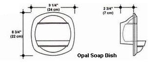 Opal Soap Dish Mold
