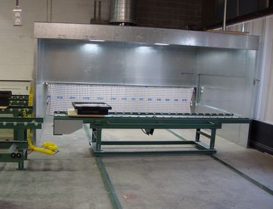 Gelcoat Spray Booth